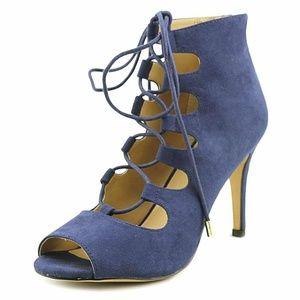 Thalia Sodi Suede Open Toe Strappy Sandals, 9.5M